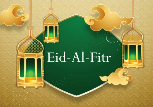 How do Muslims celebrate Eid al-Fitr