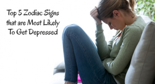 Zodiac Signs Most Likely To Get Depressed