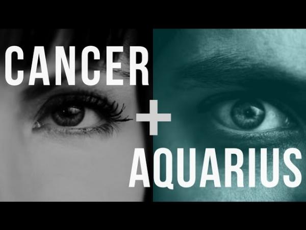 cancer and aquarius